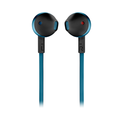 JBL TUNE 205BT Wireless Earbud Headphones In Blue - JBLT205BTBLUAM