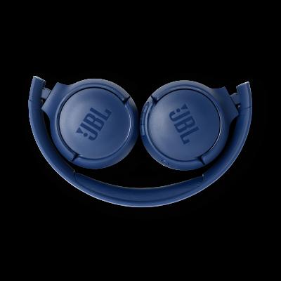 JBL TUNE 500BT Wireless On-Ear Headphones In Blue - JBLT500BTBLUAM