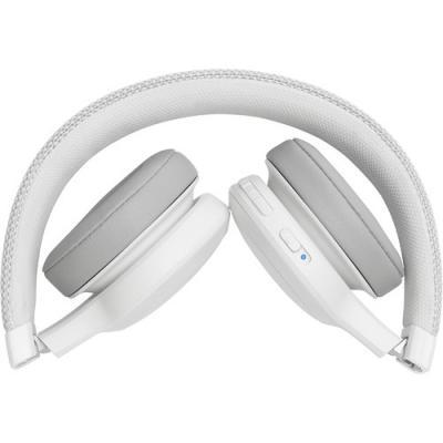 JBL Wireless On-Ear Headphones - Live 400BT (W)