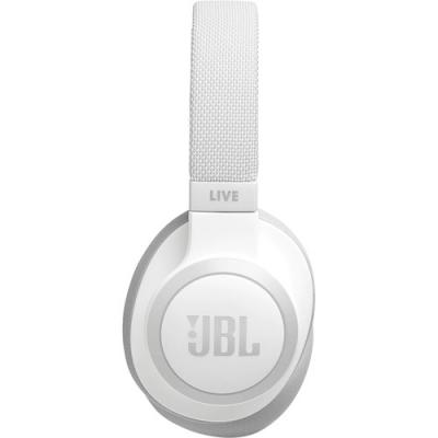 JBL Wireless Over-Ear NC Headphones - Live 650BTNC (W)