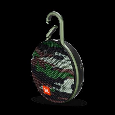 JBL Clip 3 Portable Bluetooth Speaker - JBLCLIP3SQUADAM