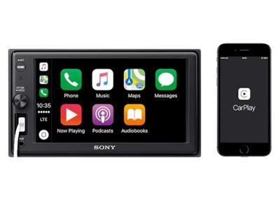 "Sony 6.2"" Apple Carplay Media Receiver With Bluetooth - XAVAX1000"