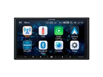 "7"" Alpine Shallow-Chassis Multimedia Receiver with PowerStack - iLX-W650"