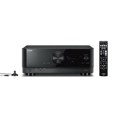 Yamaha 7.2 channel  AV receiver with Cinema DSP 3D, HDMI 7-in/1-out, Wireless Surround - RXV6A