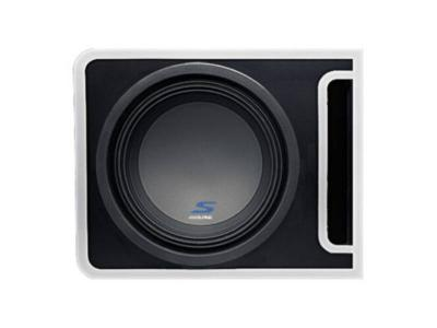 Alpine S-Series Pre-loaded 12-Inch Subwoofer Enclosure - S-SB12V