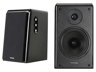 Microlab High Performance Active Powered Bluetooth Bookshelf Speakers - SOLO 16