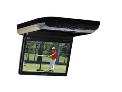 "10.2"" Alpine  overhead video monitor with a built-in Touch Screen Car DVD player - PKGRSE3DVD"