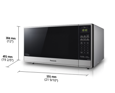 """22"""" Panasonic Evolved Microwave with Cyclonic Inverter Technology - NNST775S"""