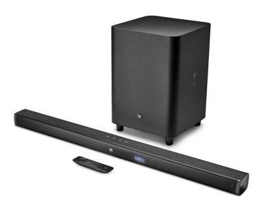 JBL 3.1-Channel 4K Ultra HD Soundbar with Wireless Subwoofer - JBLBAR31BLKAM