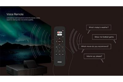 Epson EpiqVision Ultra LS500 4K PRO-UHD Laser Projection TV - LS500BATV120EP
