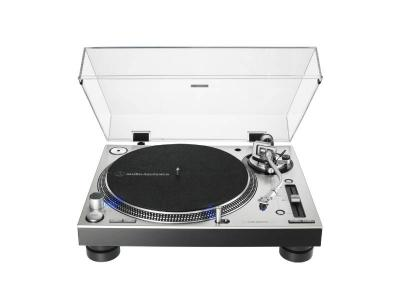 Audio Technica Direct-Drive Professional DJ Turntable in Silver - AT-LP140XP-SV