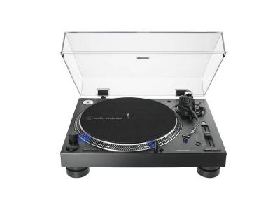 Audio Technica Direct-Drive Professional DJ Turntable in Black - AT-LP140XP-BK