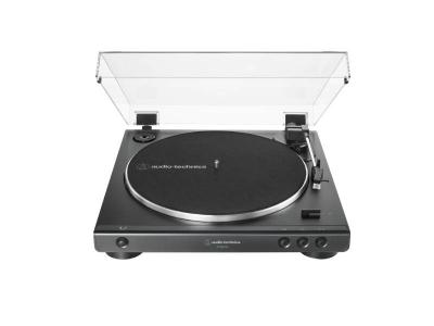 Audio Technica Fully Automatic Belt-Drive Turntable in Black - AT-LP60XUSB-BK
