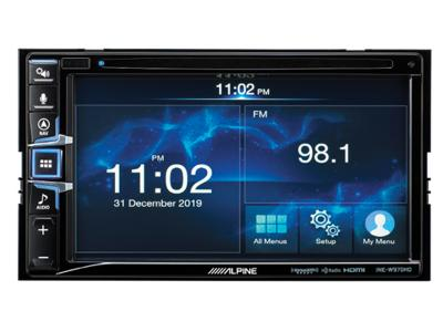 "Alpine 6.5"" Navigation Receiver with Apple CarPlay and Android Auto - INE-W970HD"