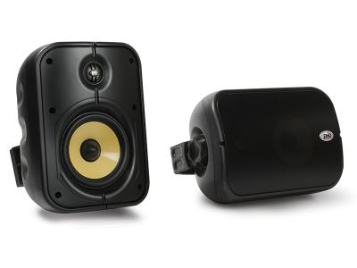 PSB Speakers Weatherproof Universal Indoor/Outdoor Speakers In Black - CS500 (B)