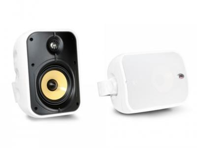 PSB Speakers Weatherproof Universal Indoor/Outdoor Speakers In White - CS500 (W)