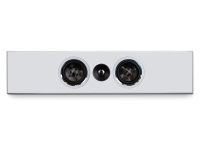 PSB Speakers Slim Profile Premium On-Wall Speaker In Satin White - PWM1 WHT