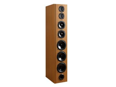 Bryston Floor Standing Speaker With Dual Titanium Dome Tweeters - Model A1 (Chr)