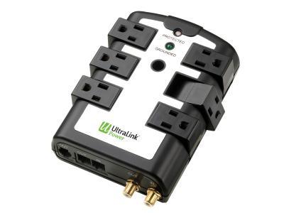 UltraLink 6 Outlet Rotating Surge Protector - ELC75