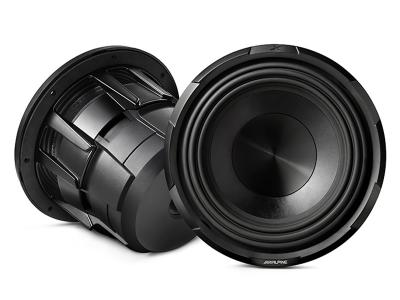 "Alpine X-Series 10"" subwoofer with dual 4-ohm voice coils - X-W12D4"