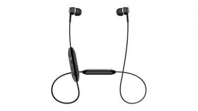 Sennheiser Wireless In-Ear Headphones in Black- CX 350BT Black