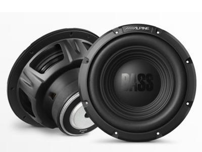 Alpine 10-Inch Bass Subwoofer (4Ohm) - W10S4