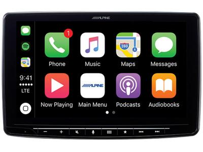 "9"" Alpine Halo 9 Plug and Play Dash System for Toyota 4Runner - iLX-F309FRN"