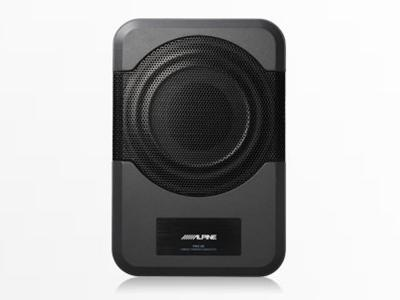 "Alpine Compact Powered 8"" Subwoofer System-PWE-S8"