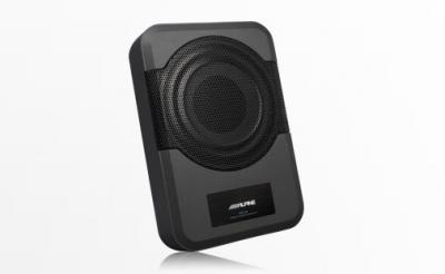 """Alpine Compact Powered 8"""" Subwoofer System-PWE-S8"""