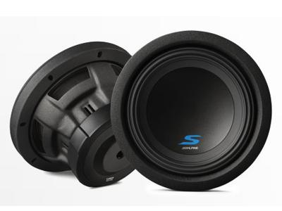 Alpine 8 Dual Voice Coil (4 Ohm) High Performance Subwoofers - S-W8D4
