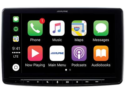 "9"" Alpine Halo 9 Plug and Play Dash System for Tacoma - iLX-F309TCM"