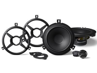 Alpine 2-Way Weather Resistant Speaker System for Jeep Wrangler JK - SPV-65X-WRA