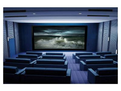 Ciruss Screens Stratus Series Fixed Frame Home Theater Projector Screen - CS-135S-235G3