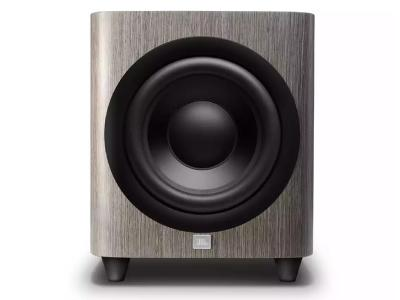 JBL 12 Inch Powered Subwoofer With Black Aluminum Cone In Grey Oak  - JBLHDI1200PGROAM