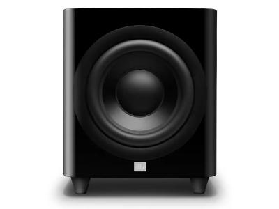 JBL 12 Inch Powered Subwoofer With Black Aluminum Cone In Black Lacquer  - JBLHDI1200PBLQAM