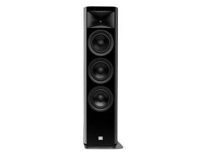 JBL 2.5-Way Floorstanding Loudspeaker With Triple 6.5 Inch Black Aluminum Cone In Black Lacquer  - JBLHDI3600WALAM