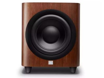 JBL 12 Inch Powered Subwoofer With Black Aluminum Cone In Walnut  - JBLHDI1200PWALAM