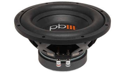 PowerBass 10 Inch Single 4-Ohm Subwoofer - S1004