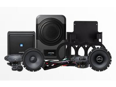 Alpine Direct Fit Sound System for 2007-2014 Jeep Wrangler Unlimited - PSS-20WRA