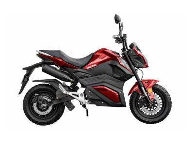 Daymak Sport Electric Scooter with Built in MP3 Player in Red - Road Warrior (R)