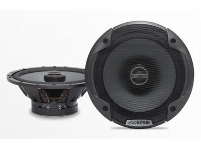 Alpine 6-1/2Coaxial 2-Way Speaker Set - SPE-6000