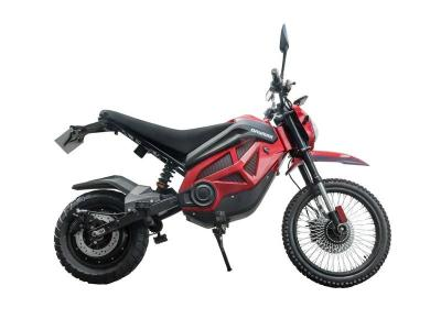 Daymak Offroad Ebike With Hydraulic Disc Brakes in Red - Pithog Max (R)