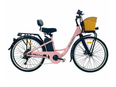 Daymak 350W EBike with 48V Lithium Ion 10AH Battery in Rose Gold  - Milan (RG)