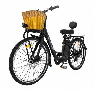 Daymak 350W EBike with 48V Lithium Ion 10AH Battery in Black - Milan (B)