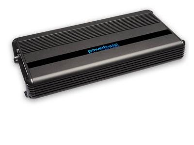 PowerBass Mono Block Compact Amplifier with 1,200 Watt High Efficiency  - XMA1205D