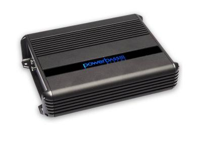 PowerBass  2 Channel Compact Amplifier with 800 Watt High Efficiency Full-Range - XMA2405IR