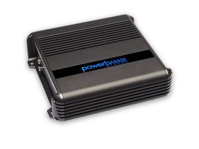 PowerBass 2 Channel Compact Amplifier with 400 Watt High Efficiency Full-Range - XMA2200IR