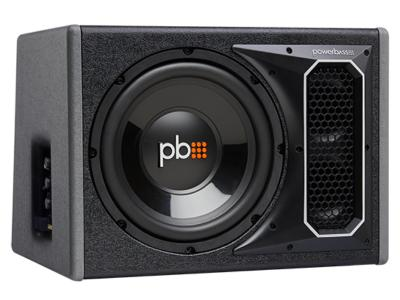 PowerBass Single 10 Inch RMS Amplified Bass Reflex Subwoofer Enclosure - PSAWB101