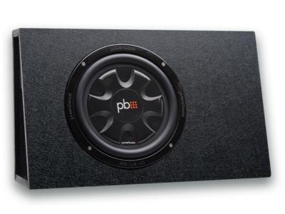 PowerBass 10 Inch Thin Loaded Subwoofer Enclosure - PSWB101T