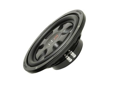 PowerBass Thin Mount 10 Inch Dual 4-Ohm Subwoofer - S10TD